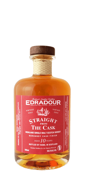 Edradour 10 Year Old 2002 Burgundy Cask Finish