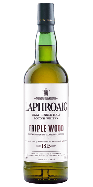 Laphroaig Scotch Single Malt Triple Wood