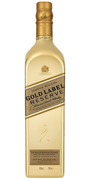 Johnnie Walker Gold Label Reserve Golden Bottle