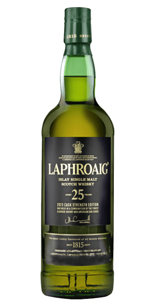 Laphroaig 25 Year Old Cask Strength 2014