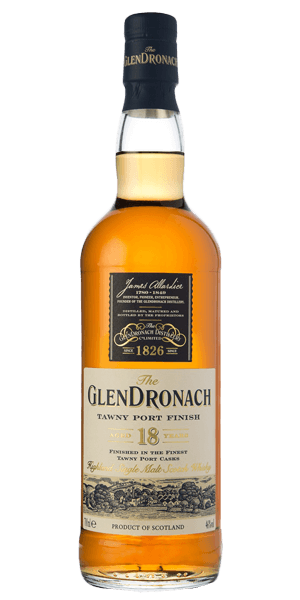 The Glendronach 18 YO Tawny Port Finish