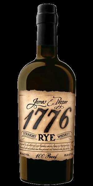 James E. Pepper 1776 Rye Whiskey