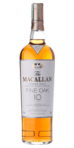 The Macallan 10 Year Old Fine Oak