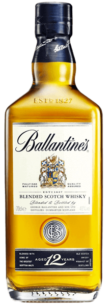 Ballantines 12 Year Old Gold Seal