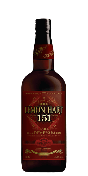 Lemon Hart 151 Demerara Rum
