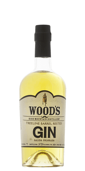 Wood's High Mountain Distillery Treeline Barrel Rested Gin