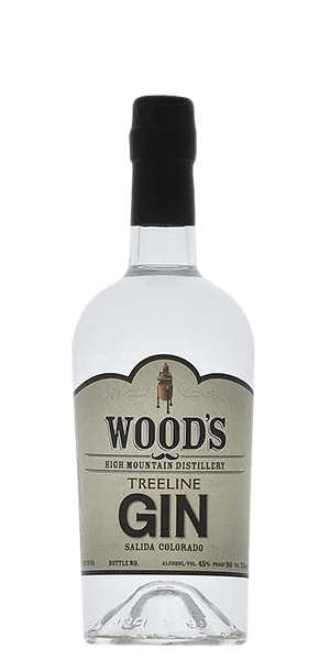 Wood's High Mountain Distillery Treeline Gin