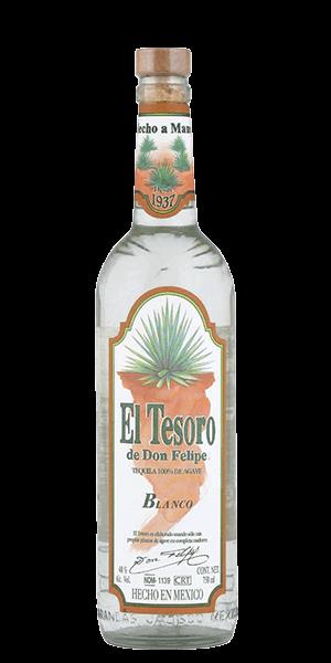 El Tesoro de Don Felipe Blanco Tequila