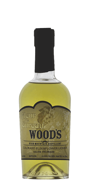 Wood's High Mountain Fleur de Sureau Elderflower Liqueur