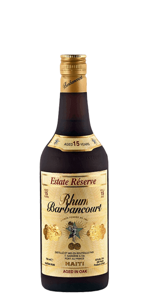 Barbancourt 15 Estate Reserve Rhum