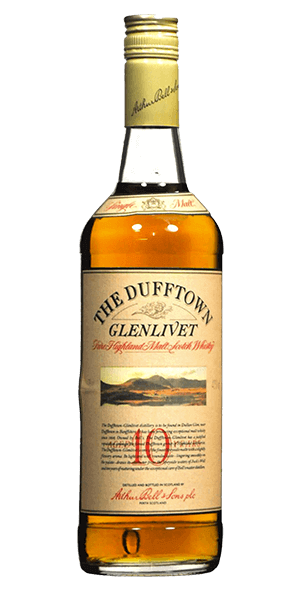 The Dufftown Glenlivet 10 Year Old