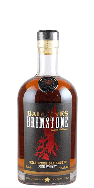 Balcones Brimstone Smoked Corn Whiskey