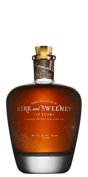 Kirk and Sweeney 12 Year Old Rum