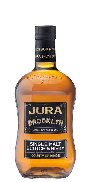 Isle Of Jura Brooklyn Single Malt Scotch Whisky