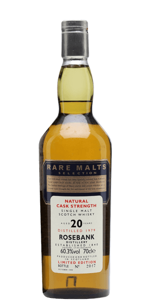 Rare Malt Selection Rosebank 20 Year Old 1979