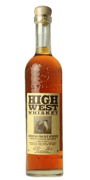 High West American Prairie Reserve Straight Bourbon Whiskey