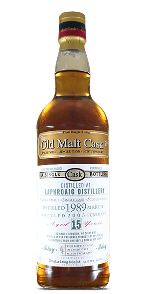 The Old Malt Cask Laphroaig 15 Year Old 1989