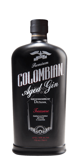 Dictador Treasure Colombian Aged Gin°