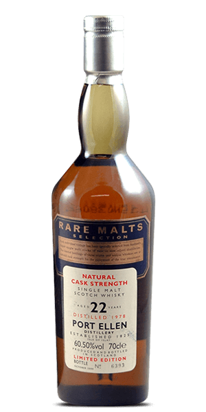 Port Ellen 22 Year Old 1978 Rare Malts