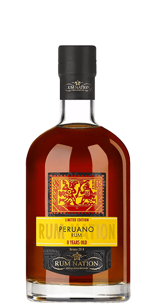Rum Nation Peruano 8 Year Old Rum