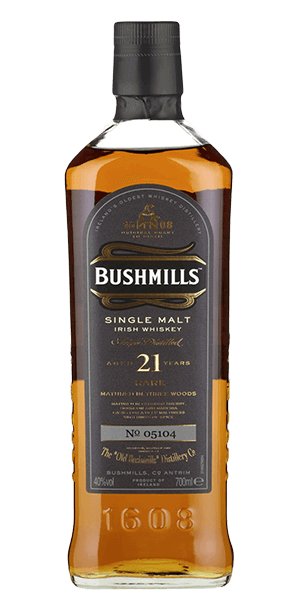 Bushmills 21 Year Old Three Wood