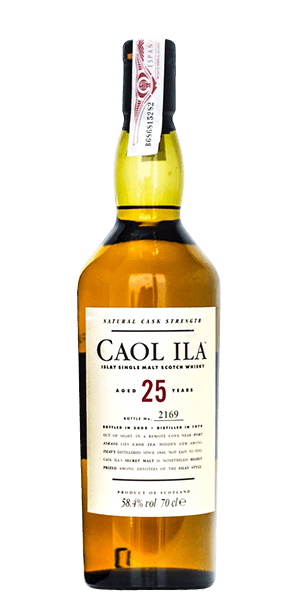 Caol Ila 1979 25 Year Old Cask Strength