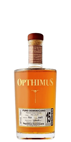 Opthimus 15 Year Old Rum Res Laude