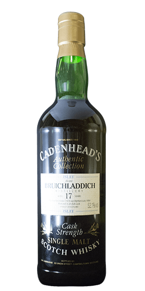 Cadenhead's Bruichladdich 17 Year Old 1976 Cask Strength