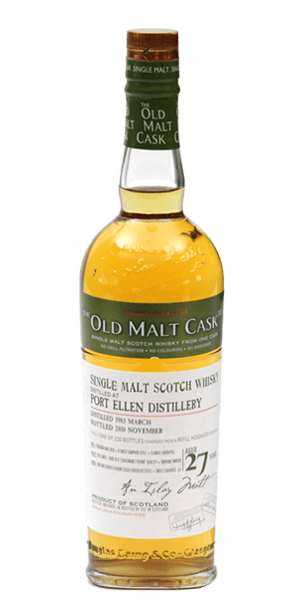 Port Ellen 27 Year Old 1983 Old Malt Cask