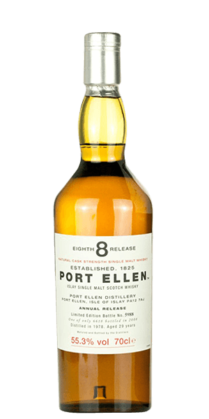 Port Ellen 29 Year Old 1978 8th Annual Release