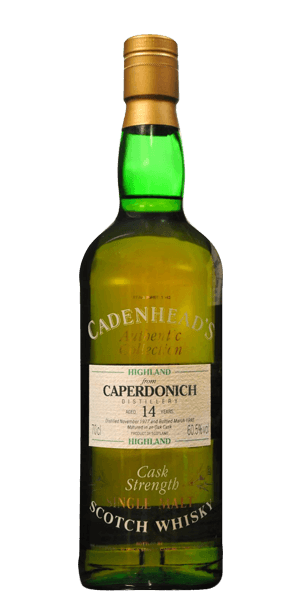 Cadenhead's Caperdonich 14 Year Old 1977 Cask Strength