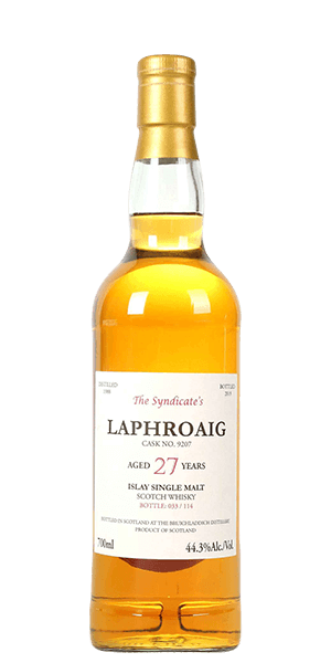 Laphroaig 27 Year Old 1988 The Syndicate's Bottling