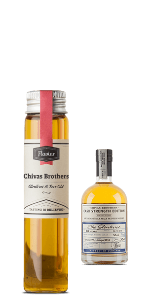 Chivas Brothers Cask Strength Edition Glenlivet 18 Year Old (Tasting sample)