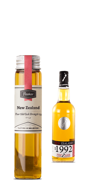 New Zealand 23 Year Old Cask Strength 1990 (Tasting sample)