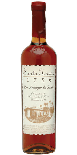 Santa Teresa 1796 Ron Antiguo de Solera