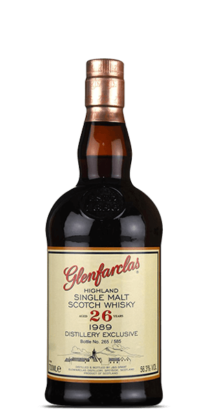 Glenfarclas 26 Year Old 1989 Distillery Exclusive