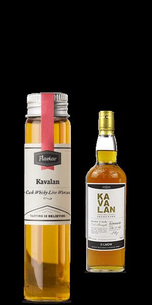 Kavalan Peaty Cask Whisky Live Warsaw 2015 (Tasting sample)