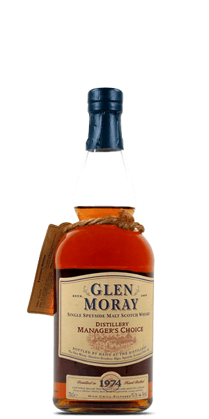 Glen Moray Distillery Manager's Choice 1974