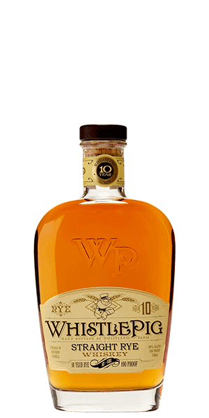 WhistlePig Straight Rye 10 Year Old