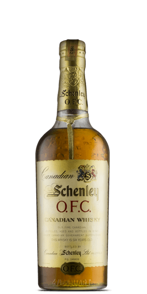 Schenley O.F.C. 6 Year Old Canadian Whisky 1952