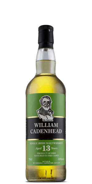 William Cadenhead 13 Year Old Single Malt Irish Whiskey