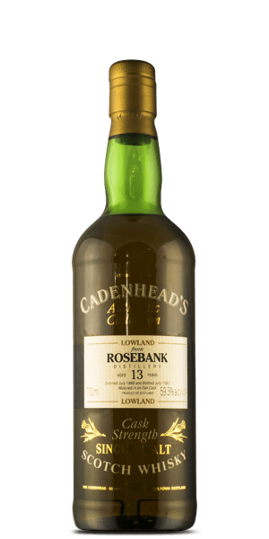Rosebank 13 Year Old 1980 Cadenhead's Authentic Collection