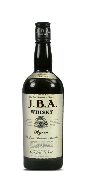 J.B.A. Whisky Byron The Best Barmen's Choice