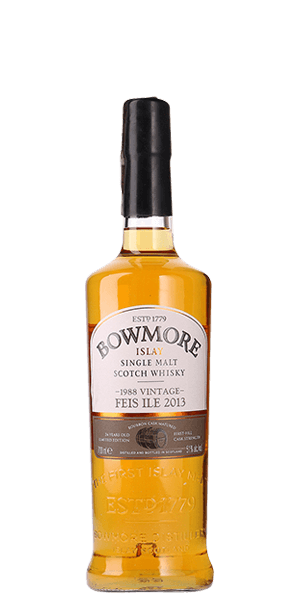Bowmore 24 Year Old Feis Ile 2013 Vintage 1988