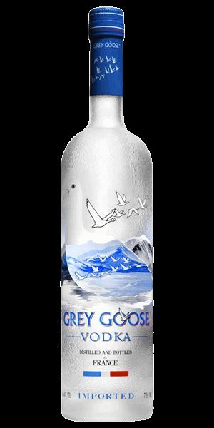 grey goose straight up
