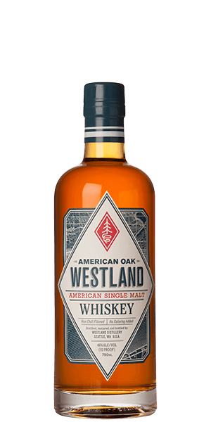 Westland American Oak Single Malt Whiskey (Signed by Master Distiller)