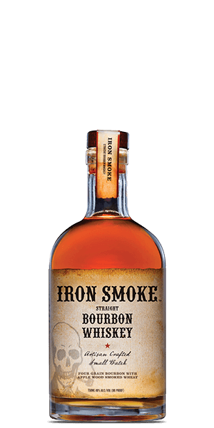 Iron Smoke Apple Wood Smoked Straight Bourbon Whiskey