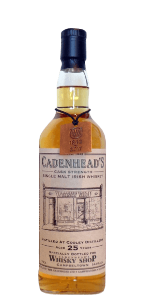Cooley 25 Year Old 1992 (Exclusive Cadenhead Whisky Shop Bottling)