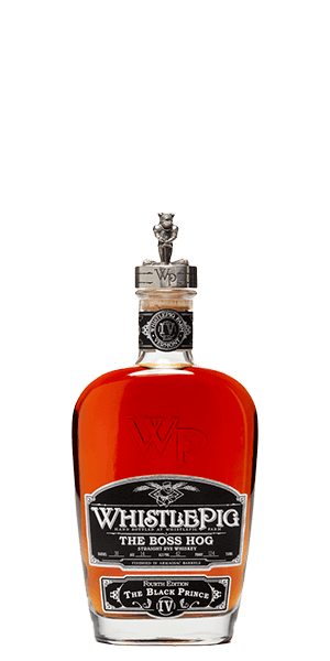 WhistlePig The Boss Hog IVth Edition: The Black Prince