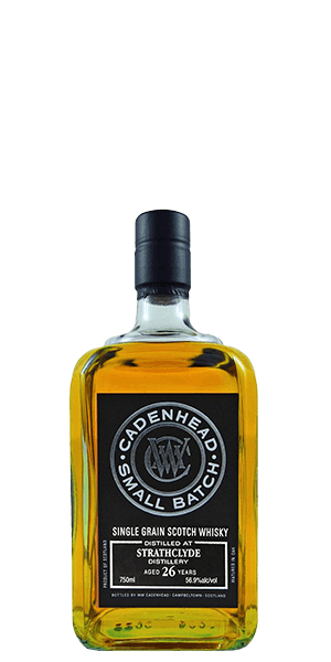 Cadenhead's Strathclyde 26 Year Old Single Grain Scotch Whisky